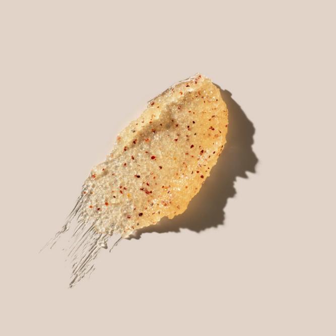 Textúra AHAVA Hamvasító növényi testradír