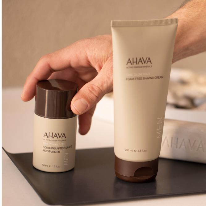 Szőrpuhító hatású borotválkozógél AHAVA