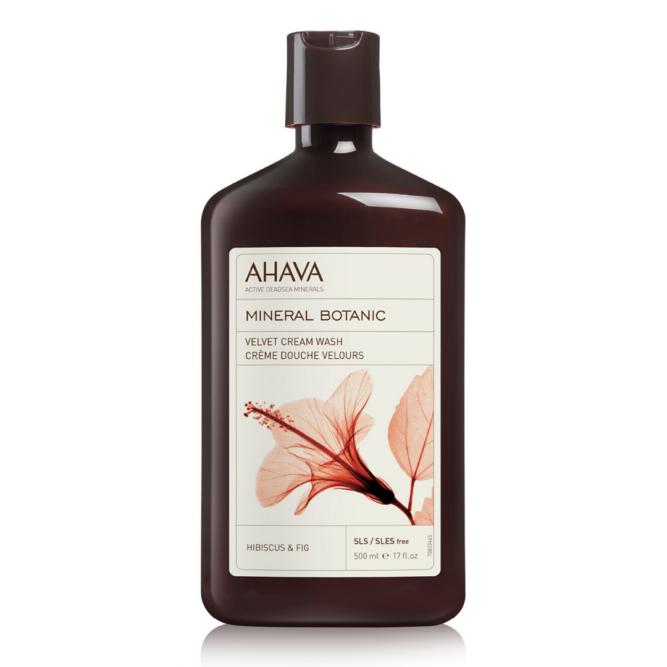 AHAVA Mineral Botanic krémtusfürdő hibiszkusz