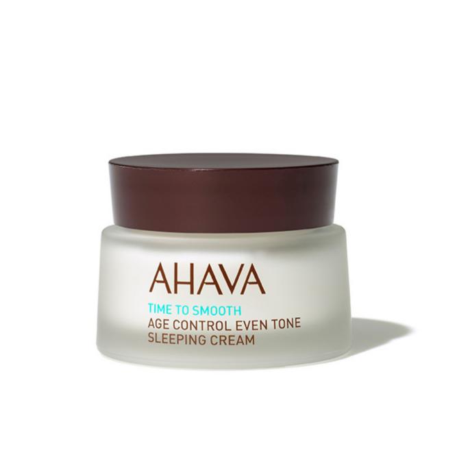 AHAVA Intenzív bőrmegújító és feszesítő éjszakai arckrém